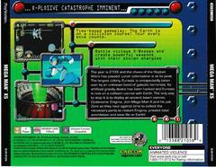Back Of Case   Mega Man X5 Playstation