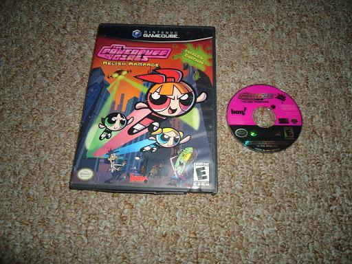 Powerpuff Girls Relish Rampage Pickled Edition Game Box Gamecube