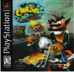 3D Lenticular Card | Crash Bandicoot Warped Playstation