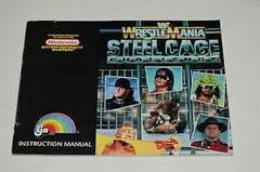 WWF Wrestlemania Steel Cage Challenge - Instructio | WWF Wrestlemania Steel Cage Challenge NES