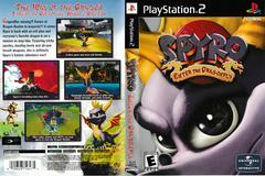 Artwork - Back, Front | Spyro Enter the Dragonfly Playstation 2