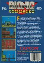 Bionic Commando - Back   Bionic Commando NES