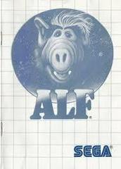 Alf - Instructions | Alf Sega Master System