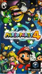 Manual - Front | Mario Party 4 Gamecube