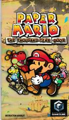 Manual Front | Paper Mario Thousand Year Door Gamecube