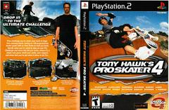 Artwork - Back, Front | Tony Hawk 4 Playstation 2