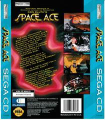 Back Of Box | Space Ace Sega CD