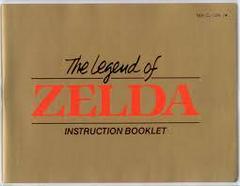Legend Of Zelda - Instructions | Legend of Zelda NES