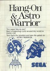Hang-On And Astro Warrior - Instructions | Hang-On and Astro Warrior Sega Master System