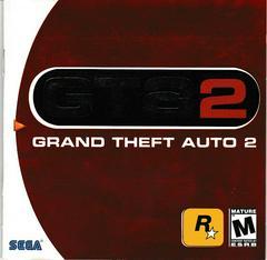 Manual - Front | Grand Theft Auto 2 Sega Dreamcast