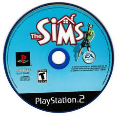 Game Disc   The Sims Playstation 2