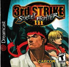 Manual - Front | Street Fighter III 3rd Strike: Fight for the Future Sega Dreamcast