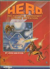 H.E.R.O. - Front   H.E.R.O. Atari 5200