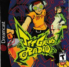 Manual - Front | Jet Grind Radio Sega Dreamcast