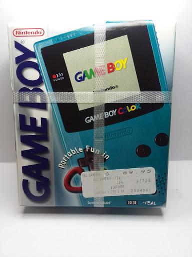 Game Boy Color Teal photo