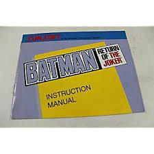 Batman Return Of The Joker - Instructions | Batman: Return of the Joker NES