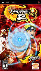 Naruto Ultimate Ninja Heroes 2 The Phantom Fortress Cover Art