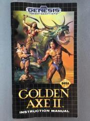 Instruction Manual | Golden Axe II Sega Genesis