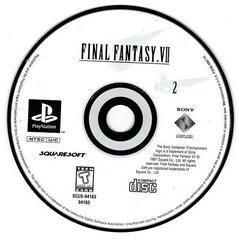 Game Disc 2   Final Fantasy VII Playstation