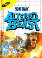 Altered Beast - Front | Altered Beast Sega Master System