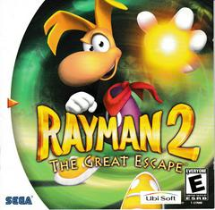 Manual - Front | Rayman 2 The Great Escape Sega Dreamcast