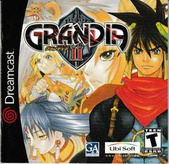Manual - Front | Grandia II Sega Dreamcast