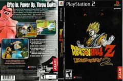 Artwork - Back, Front | Dragon Ball Z Budokai 2 Playstation 2