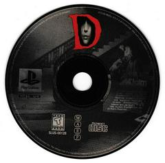 Game Disc 1   D [Long Box] Playstation