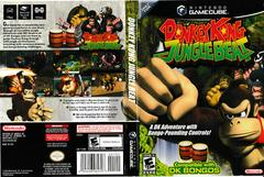 Artwork - Back, Front | Donkey Kong Jungle Beat Gamecube