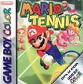 Mario Tennis | PAL GameBoy Color