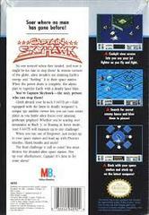 Captain Skyhawk - Back   Captain Skyhawk NES