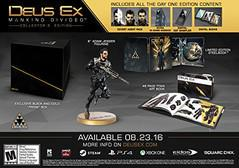 Deus Ex: Mankind Divided Collector's Edition Playstation 4 Prices