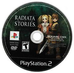 Game Disc   Radiata Stories Playstation 2