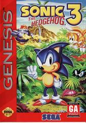 Sonic the Hedgehog 3 Sega Genesis Prices