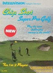 Chip Shot Super Pro Golf Intellivision Prices