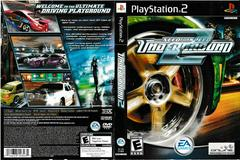 Artwork - Back, Front | Need for Speed Underground 2 Playstation 2