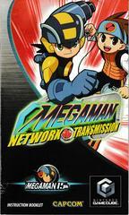 Manual - Front | Mega Man Network Transmission Gamecube