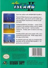Adventure Island II - Back | Adventure Island II NES