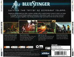 Back Of Case | Blue Stinger Sega Dreamcast