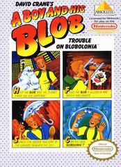 A Boy and His Blob Trouble on Blobolonia NES Prices