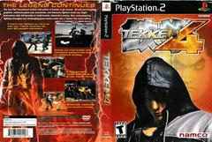 Artwork - Back, Front | Tekken 4 Playstation 2