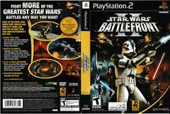 Artwork - Back, Front | Star Wars Battlefront 2 Playstation 2