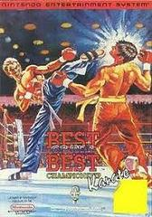 Best Of The Best Championship Karate - Front | Best of the Best Championship Karate NES