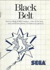 Black Belt - Instructions | Black Belt Sega Master System
