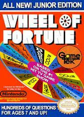 Wheel Of Fortune Junior Edition - Front | Wheel of Fortune Junior Edition NES