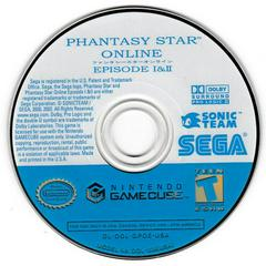 Game Disc | Phantasy Star Online Gamecube
