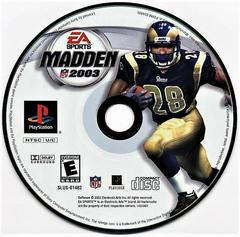 Game Disc | Madden 2003 Playstation