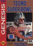 Tecmo Super Bowl Sega Genesis Prices