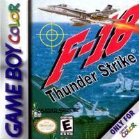 F-18 Thunder Strike PAL GameBoy Color Prices