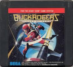 Buck Rogers Planet Of Zoom  - Cartridge   Buck Rogers: Planet of Zoom Atari 5200